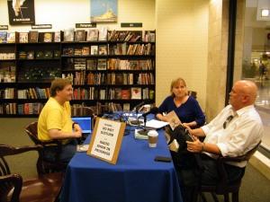 Sandy Colbert with David Berner