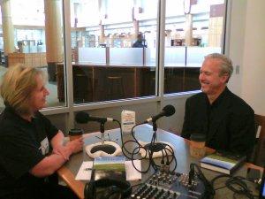 Sandy Colbert and Dan Burns