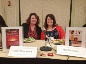 Authors Chris Cacciatore and Jenny Starkman