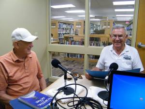 Author Richard Novak (with Jim Applegate)