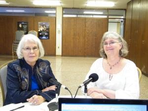 Lolita Ditzler and Deb Borys