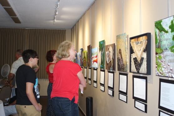 Lovers of both Word and Art enjoy the Word of Art 2 gallery exhibition at Emmanuel Lutheran Church.
