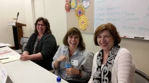 Debbie Deustch, Mary Lamphere, and Catherine Conroy Photo